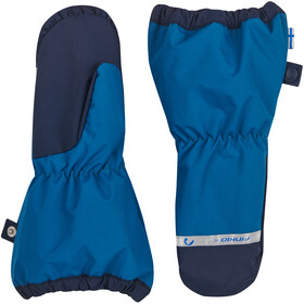 Finkid Pakkanen Outdoor Mittens with Snowcuff Kids seaport/navy
